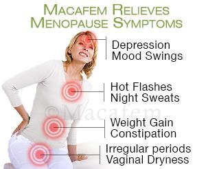 macafem benefits menopause symptoms
